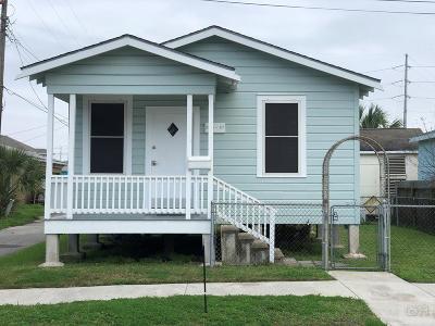 Galveston TX Single Family Home For Sale: $89,500