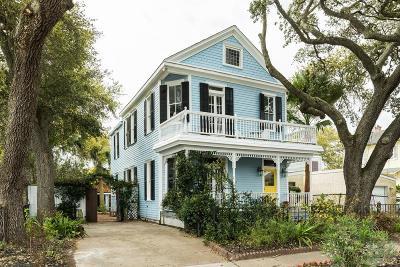Galveston Single Family Home For Sale: 3515 Ave Q