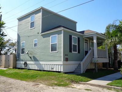 Galveston Single Family Home For Sale: 1111 45th Street
