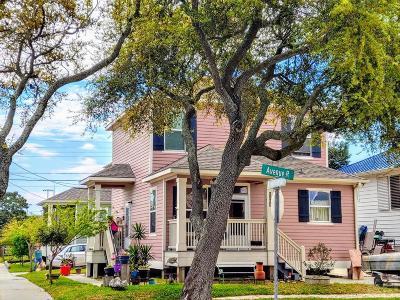 Galveston Single Family Home For Sale: 5301 Ave R