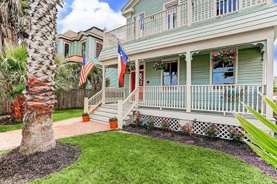 Galveston Single Family Home For Sale: 1013 Ball Street