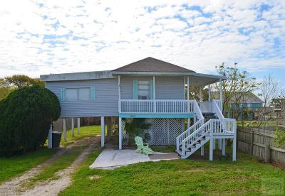 Galveston TX Single Family Home For Sale: $130,000