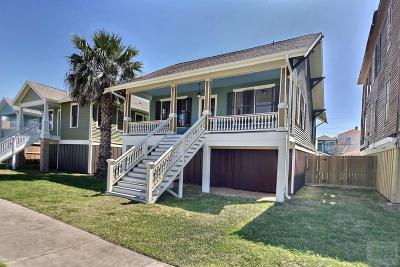 Galveston Single Family Home For Sale: 1719 Mechanic