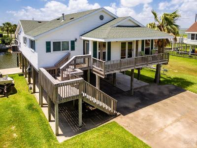 Jamaica Beach Single Family Home For Sale: 16711 Sandpiper Road