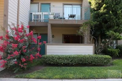 Galveston Condo/Townhouse For Sale: 7029 N Holiday Drive