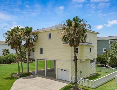 Galveston TX Single Family Home For Sale: $629,000