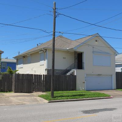 Galveston Single Family Home For Sale: 513 9th Street