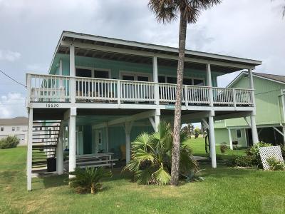Jamaica Beach Single Family Home For Sale: 16630 Jamaica Beach Road
