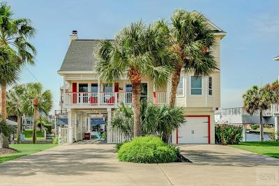 Galveston TX Single Family Home For Sale: $479,000