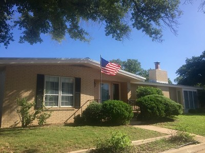 Llano Single Family Home For Sale: 201 E Granite
