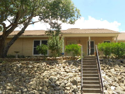 Fredericksburg Single Family Home Under Contract W/Contingencies: 422 Summit Circle Dr