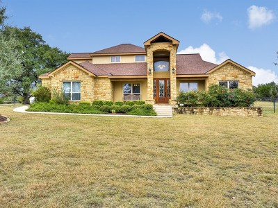 Kerrville Single Family Home Under Contract: 774 Estates Dr.