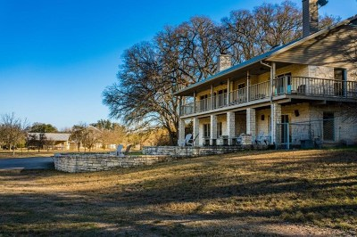 Kerr County Single Family Home For Sale: 2061 Fm 1340