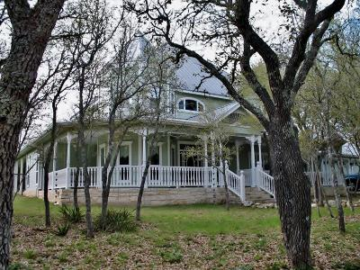 Blanco County Single Family Home Under Contract W/Contingencies: 109 Abierto Cove Dr