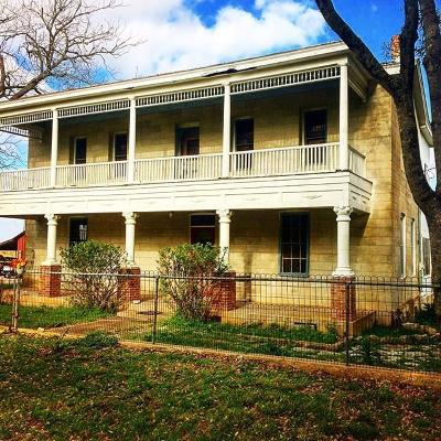 Gillespie County Single Family Home For Sale: 5383 S Center Point Rd