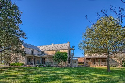 Gillespie County Single Family Home Under Contract W/Contingencies: 575 Buckeye Rd