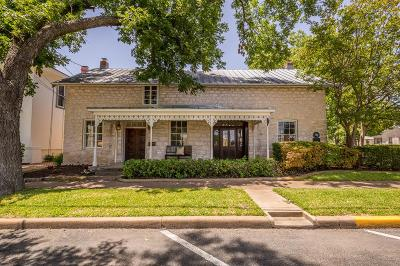 Gillespie County Single Family Home For Sale: 125 W San Antonio St