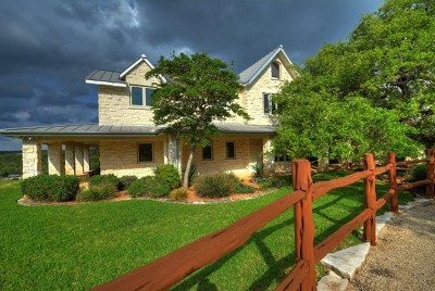 Kerrville Single Family Home For Sale: 1677 Lake Ridge