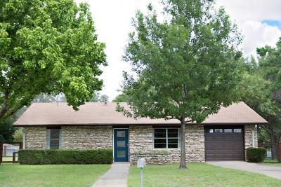 Fredericksburg Single Family Home Under Contract W/Contingencies: 1401 N Crockett St