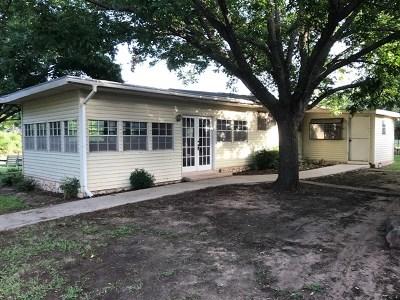 Fredericksburg Single Family Home Under Contract W/Contingencies: 501 W Schubert St