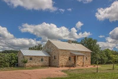 Fredericksburg Single Family Home For Sale: 3574 Ranch Rd 965