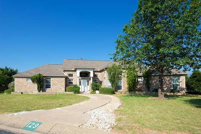 Fredericksburg Single Family Home For Sale: 129 Stone Hollow