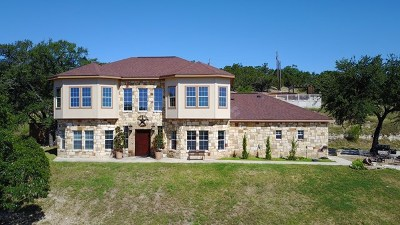 Kerrville Single Family Home For Sale: 3436 Medina Hwy