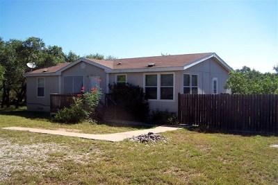 Blanco County Single Family Home Under Contract: 107 Miranda Court