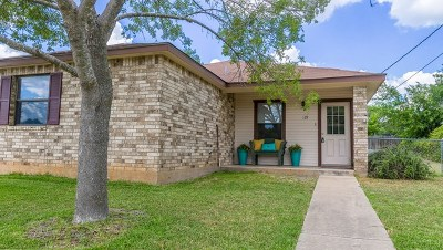 Fredericksburg Single Family Home For Sale: 119 SW Green Court