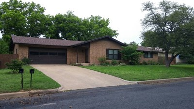 Fredericksburg Single Family Home For Sale: 602 Bunny Dr