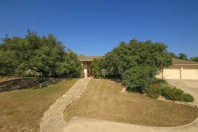 Kerrville Single Family Home For Sale: 2110 Medina Hwy
