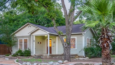 Fredericksburg Single Family Home Under Contract W/Contingencies: 701 N Pine St