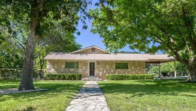 Fredericksburg Single Family Home For Sale: 702 E Schubert St