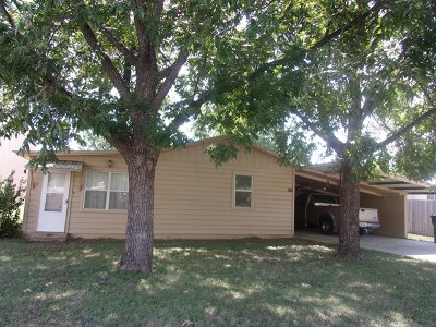 Llano Single Family Home For Sale: 804 Flag St