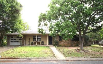 Fredericksburg Rental For Rent: 1011 Avenue C