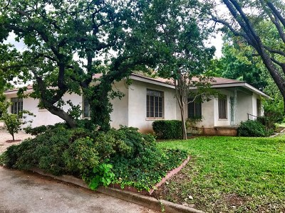 Fredericksburg Single Family Home Under Contract W/Contingencies: 803 Poplar