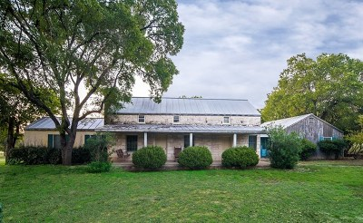 Fredericksburg Single Family Home For Sale: 202 Primrose Lane