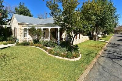 Fredericksburg Single Family Home For Sale: 206 E Travis St