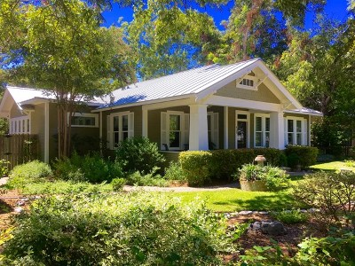 Fredericksburg Single Family Home Under Contract W/Contingencies: 409 W College St