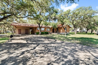 Blanco County Single Family Home For Sale: 101 Old Austin Hwy