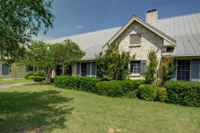 Kerr County Single Family Home For Sale: 114 W Indian Trail