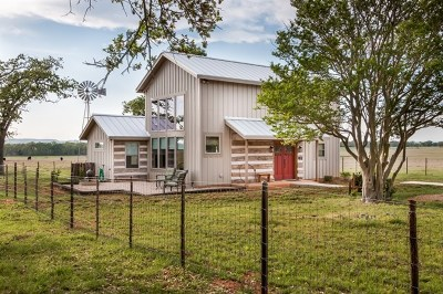 Fredericksburg Single Family Home For Sale: 495 Thomas Jung Rd