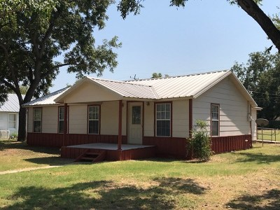 Llano Single Family Home For Sale: 1202 E Sandstone
