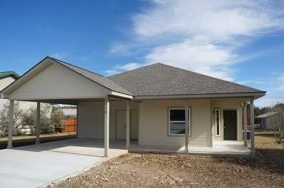 Blanco County Single Family Home Under Contract W/Contingencies: 1016 Country Rd