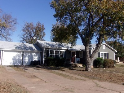 Llano Single Family Home For Sale: 903 E Sandstone