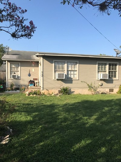 Blanco County Single Family Home Under Contract: 619 9th Street