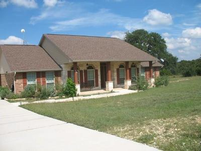 Blanco County Single Family Home For Sale: 329 John Price St
