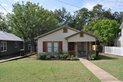 Fredericksburg Single Family Home Under Contract W/Contingencies: 315 W Creek St