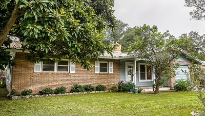 Fredericksburg Single Family Home Under Contract W/Contingencies: 703 N Edison St