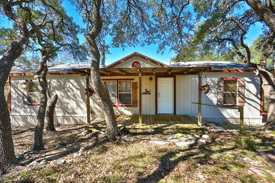 Fredericksburg Single Family Home Under Contract W/Contingencies: 305 Apache Rd